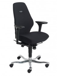 Even in its basic version, the Plus[8] is a high-performance chair. The Synchron tilt makes for a well-balanced pattern of movement and for secure comfort. The fine contours are well balanced and timelessly sleek. And you can add your own personal style with M...